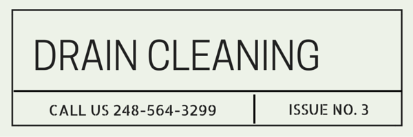 Drain Cleaning in Riverview MI